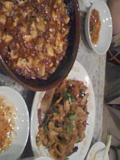 晏閣の麻婆豆腐