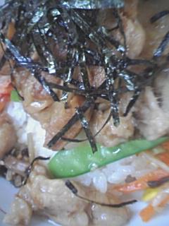 八龍の角煮ビビンバ