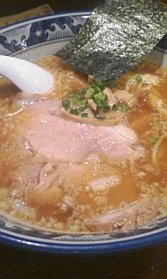 麺憎のスパイス麺