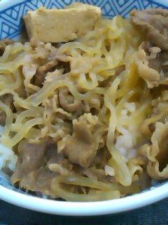 吉野家の牛鍋丼
